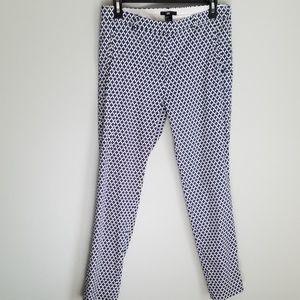 H&M Print Ankle Skinny Pants